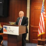 Dr. Montgomery speaks at the USINPAC LNG Briefing