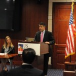 Erik Milito, Director of Upstream and Industry Operations for the American Petroleum Institute speaks at the USINPAC LNG Briefing