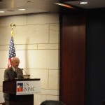 Dr. Michael Canes,Distinguished Fellow at the Logistics Management Institute (LMI) speaks at the USINPAC LNG Briefing