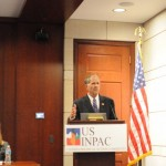 Congressman Ted Poe speaks at the USINPAC LNG Briefing