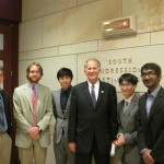 USINPAC Interns with Congressman Ted Poe