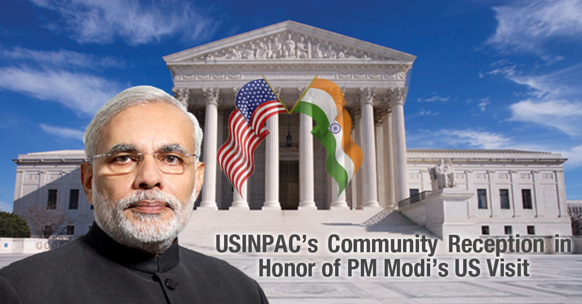 USINPAC Community Reception in Honor of PM Modi's US Visit