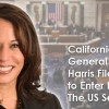 California Attorney General Kamala Harris Files Paperwork to Enter Race for The US Senate